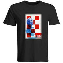Luka Modric Croatia Footballer Soccerring Shirt T-Shirt Top Vintage Look Fashion
