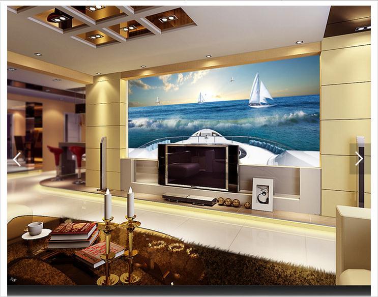 Aliexpresscom Buy 3d photo wallpaper custom 3d wall murals