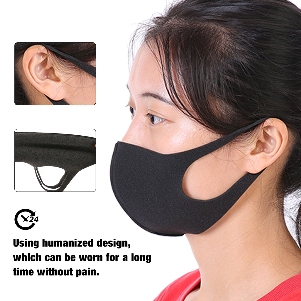 Men's Masks Men's Accessories Enthusiastic Bear Reusable Anti-dust Cotton Facial Protective Cover Masks Dropship In Many Styles