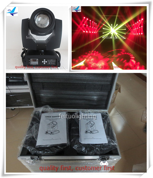 (Flight Case)Dj disco light stage party sharpy beam 5r 200w moving head 5r Mobile head light