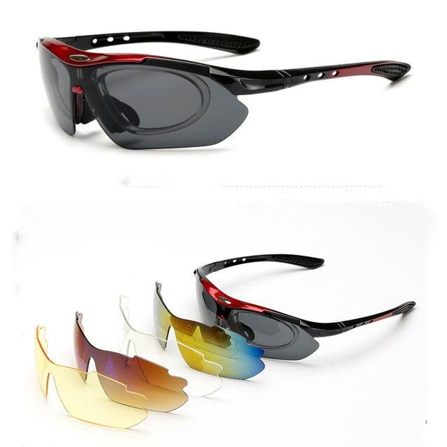 a6cc149fa1 Nuevas Gafas de ciclismo para ciclismo Gafas de sol de ciclismo para hombre/mujer  Gafas