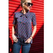Summer Fashion Red Lips Printed Chiffon Shirt Women Tops Casual Bow Stand Collar Long Sleeves Blouses Spring 2019 New Arrival diamond collar long sleeves chiffon shirt black
