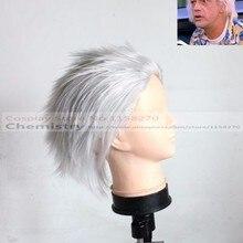 Снова в будущее доктор Эмметт коричневый Косплей hairwear