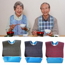 3 colors Elderly patient adult Waterproof Saliva Towel Aprons Bib Unisex Novelty Adult Feeding/Drinking Anti-leak