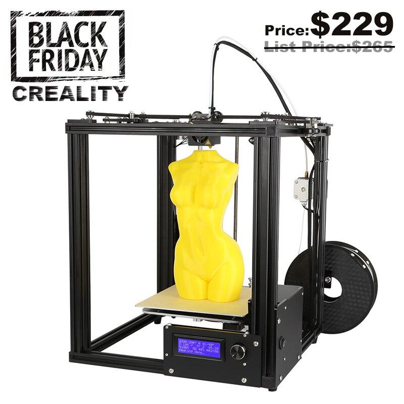 Creality 3D лазерной Ender-4 автоматическое выравнивание core-XY 3D-принтеры v-слот Рамки 3D-принтеры комплект нити мониторинга сигнализации potection