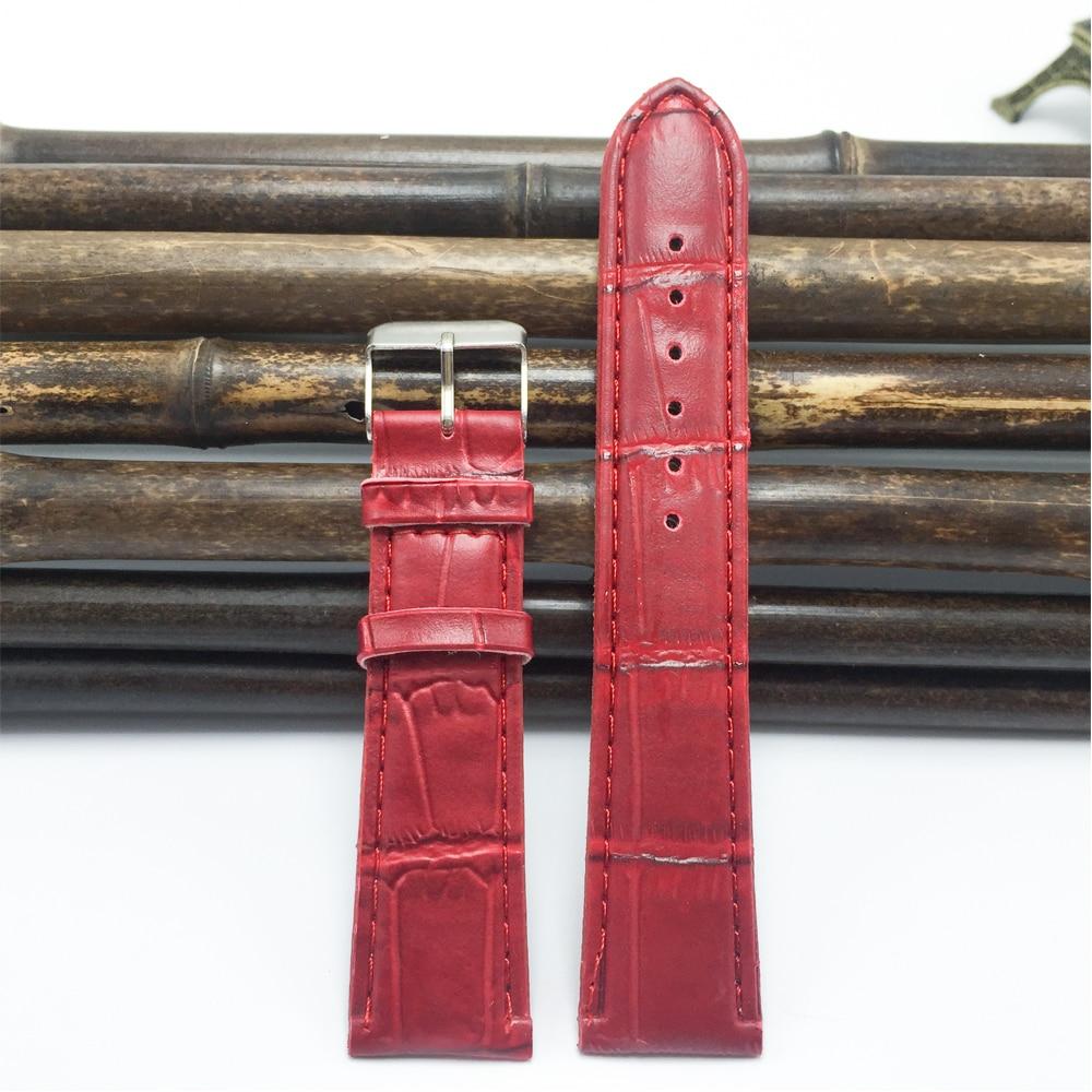 Fabriksudgange 20/18 / 16mm PU urbånd kvinder 2020 høj kvalitet blød rem armbånd armbånd stropper til ure armbånd
