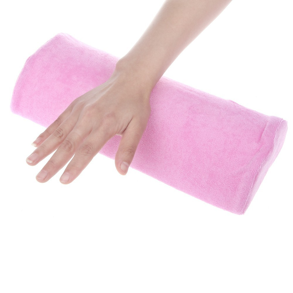 2016 Hot Sale Women Lady Half Hand Cushion Rest Pillow Nail Art Design Manicure Care Salon Soft Column For Beauty Tool BO