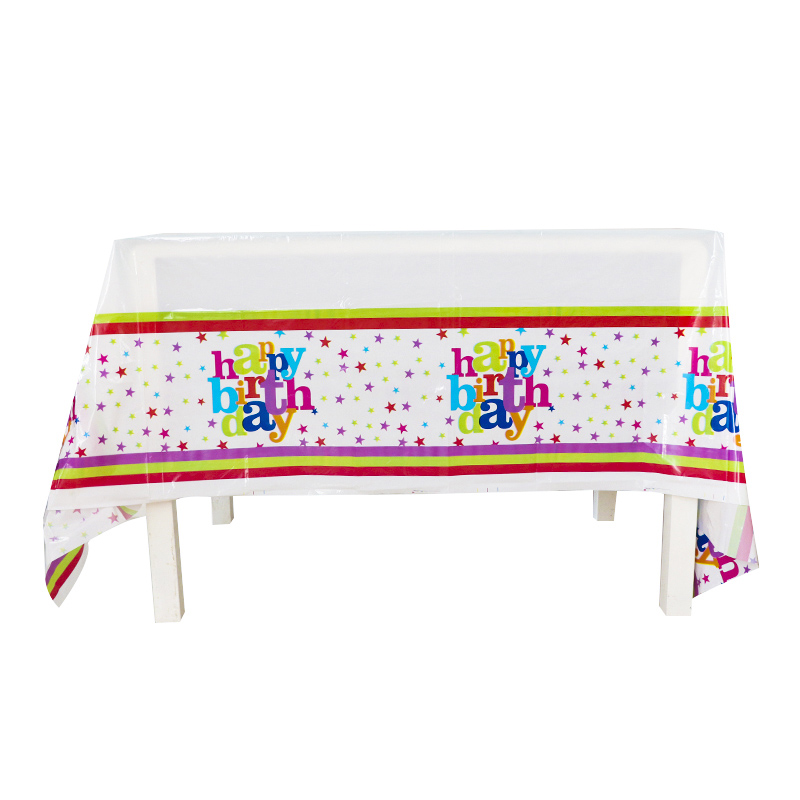 Kids Plastic Birthday Party Table Cover Tablecloth Shimmer and Shine