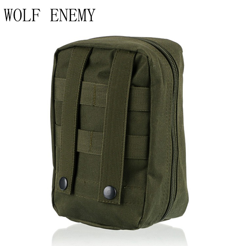 In Stock Military Airsoft Molle Medical Bag Easy Carring Tactical First Aid Pouch Tan Black Green Digital Woodland ...