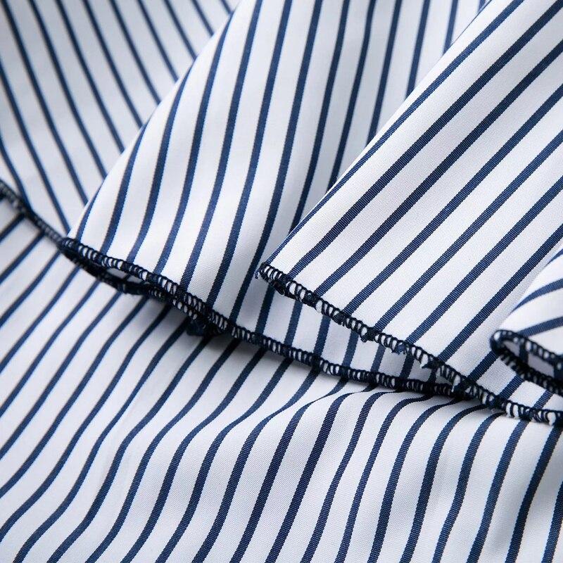 Μπλε Ριγέ Γυναικεία Ρολόγια - Γυναικείος ρουχισμός - Φωτογραφία 6