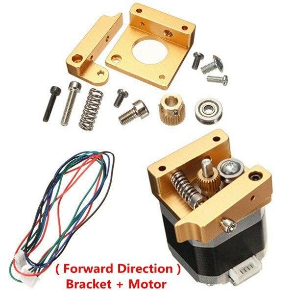 Videospiele Unterhaltungselektronik Honig Mk8 Aluminium Extruder Kit Mit Nema 17 Schrittmotor 1,75 Mm Für 3d-drucker Reprap Prusa I3