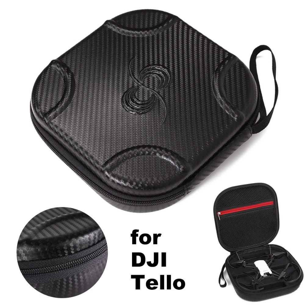 DJI Tello Case Carrying Bag Transport Protective Box PU EVA Portable Handheld Storage Case Accessories Travel ProtectorDJI Tello Case Carrying Bag Transport Protective Box PU EVA Portable Handheld Storage Case Accessories Travel Protector