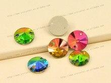 Top 3200 Rivoli Runde Kristall Vitrail Medium Glas Nähen Auf Rhinestones 8,10, 12,14, 16,18mm Strass Nähen Für hochzeit Kleid
