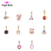 10Pcs/lot Pryme Mixed Copper Beads Charms DIY Bracelet & Bangles Pendant Jewelry Charms EP-130