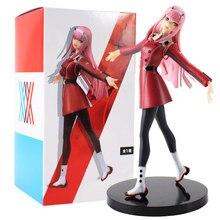 20cm querida no franxx figura brinquedo zero dois 02 exq parceiro assassino anime beleza modelo bonecas