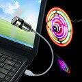 MINI Lâmpada de Poupança de Energia do DIODO EMISSOR de Luz Com Ventilador Para Notebook Laptop Flexível