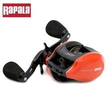 Rapala Brand RAGE Red Color 7 Ball Bearings 6.5:1 Right / Left hand Baitcasting Fishing Reel Centrifugal Brake Bait Casting Reel