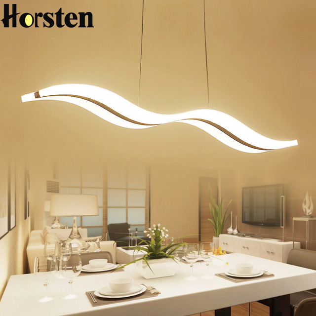 Modern 38W 97CM LED Pendant Lights Lamp Kitchen Living Dining Room Light Fixtures Hanging Dimmable