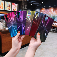 Fashion Colorful Laser Mirror Cover Phone Cases For