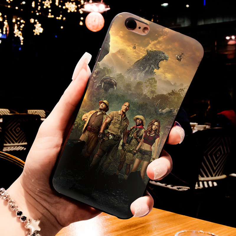 MaiYaCa jumanji Printing Drawing protection phone Cover Case for iPhone 8 7 6 6S Plus X 5 5S SE 11pro max case Cover