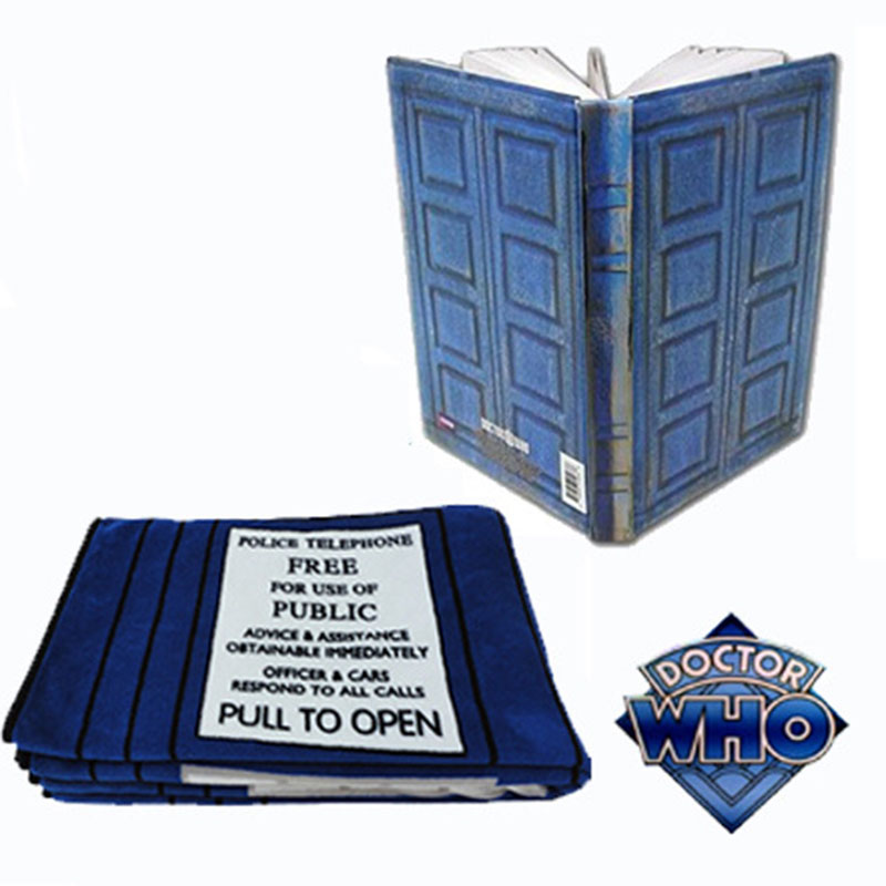 New Hot Doctor Who Tardis Journal Book Action Figure Toy Notebook River Song's Travel Journal Collectors Toys Gift For Kids