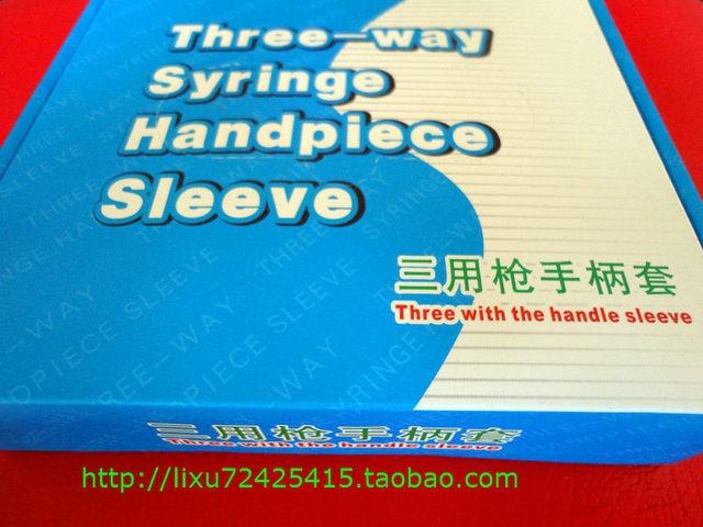 100 pcs/box Free Shipping Three Way Syringe Handpiece Sleeves