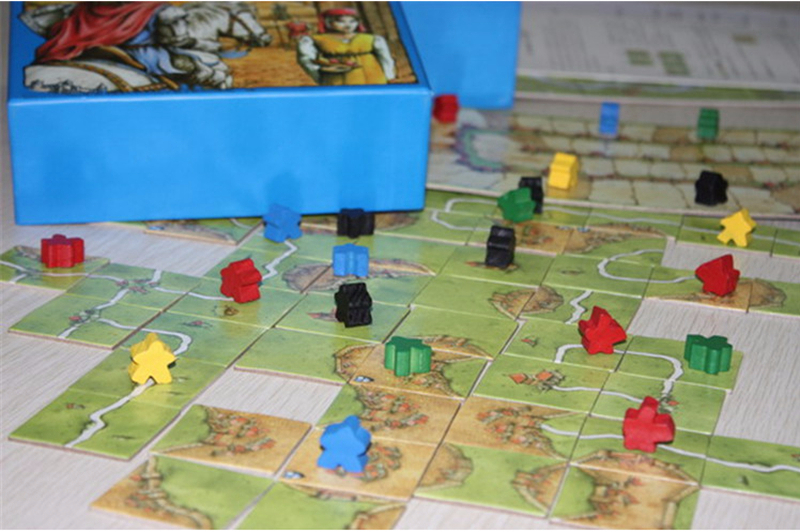 Carcassonne Board Game Basic The RiverTowerCatapultCountKing - River game