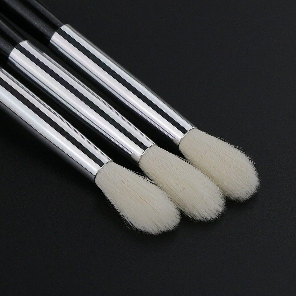 BEILI X06 Black Eye Shadow Tampered blending Concealer Natural Goat Hair Makeup Brushes 9