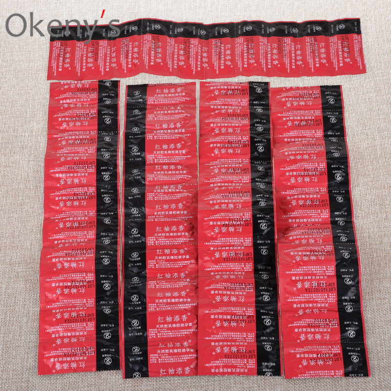Wholesale Condoms 100pcs Hot Sex Products, Best Quality Condoms with Full Oil, Retail Package Condom Safe Contraception