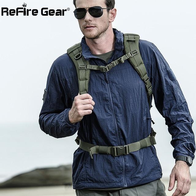 Tactical Lightweight Waterproof Jacket Men Summer Breathable Thin Hoody Raincoat Military Portable Windbreaker Army Skin Jackets 1