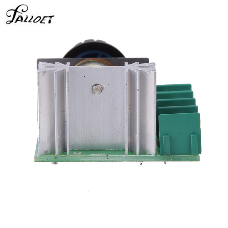 AC 50-250V 25A 2000W Adjustable Motor Speed Controller Voltage Regulator Lighting Dimmer for Lighting Dimmer Small Motor Speed