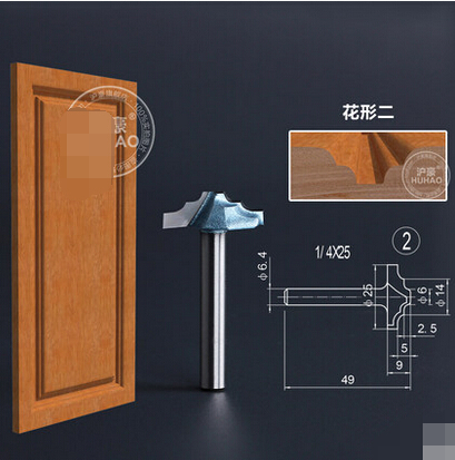 SHK 1 4 inch Cupboard door woodworking lace cutter machine engraving cutter milling font b knife