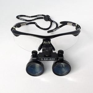 Image 3 - 3.5x ampliação equipamento médico dentes dental lupa antifogging óculos ópticos cirurgia clínica dentista lupa cirúrgica