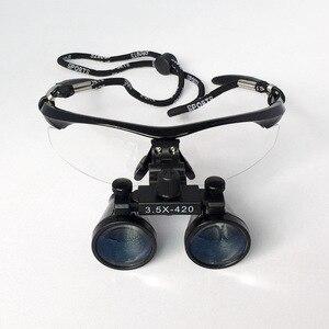 Image 3 - Ingrandimento 3.5X attrezzatura medica denti lente dingrandimento dentale occhiali ottici antiappannanti dentista clinico chirurgia lente chirurgica