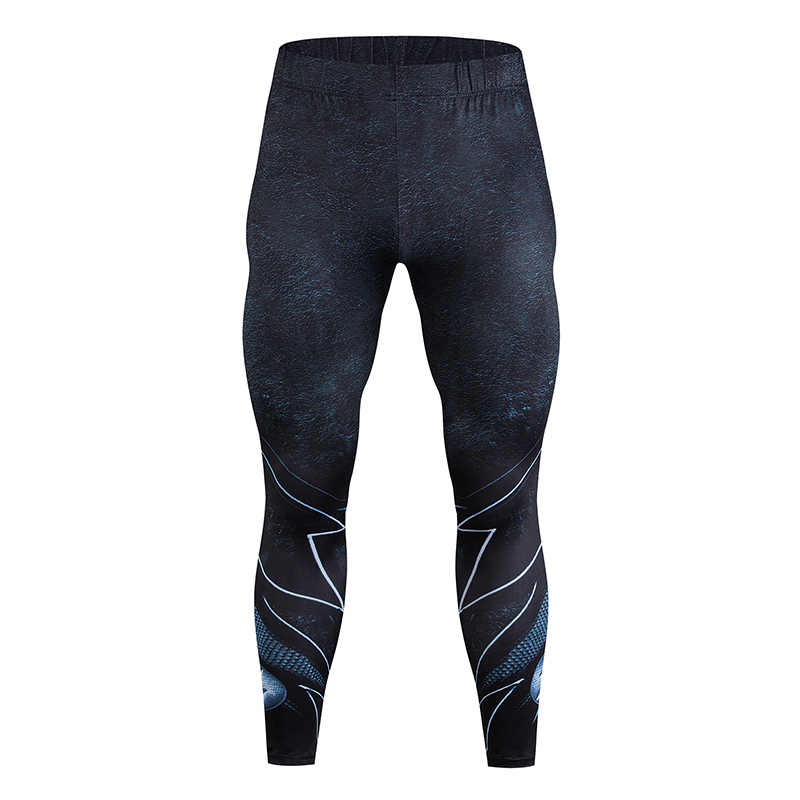 5a57057fcf52ab Fitness Men's Leggings Fitness Compression Pants Fashion Bodybuilding Pants  Quick Dry Pants Stretch Clothing