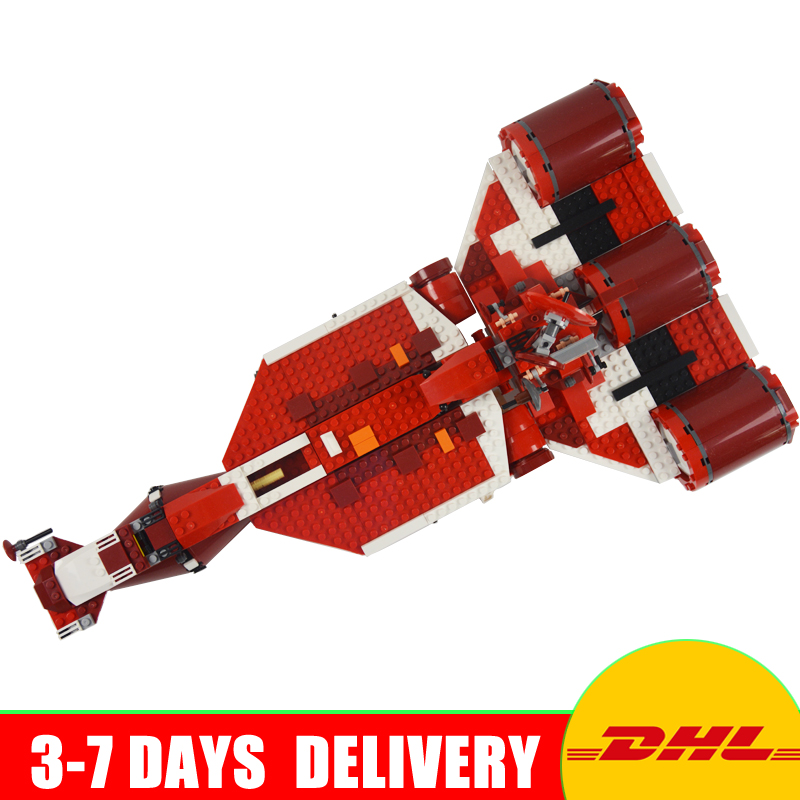 Lepin 05070 UCS Series The Republic Cruiser Children Educational Building Blocks Bricks Toys Model funny Gifts 7665 lepin 6125 stucke star classic modell wars die ucs st04 republic cruiser educational building blocks bricks spielzeug mode
