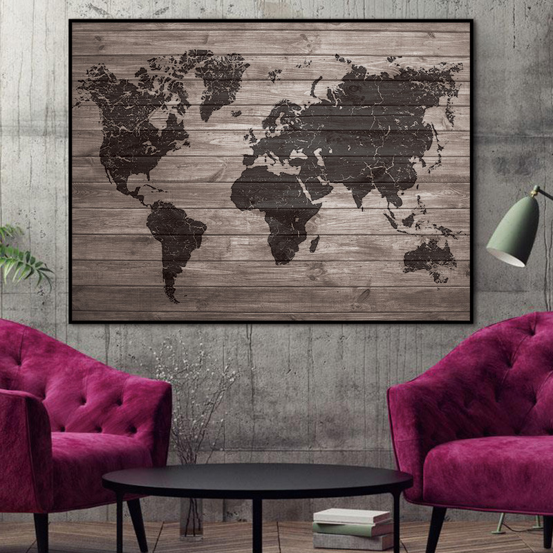 Footage Wall artwork poster portray summary portray artwork prints map canvas dwelling ornament for lounge Canvas Portray Portray & Calligraphy, Low-cost Portray & Calligraphy, Footage Wall artwork poster portray...