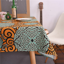 Simple tablecloths Triangle geometric cotton tablecloths Hotel tablecloths Coffee table cloth Waterproof tablecloths
