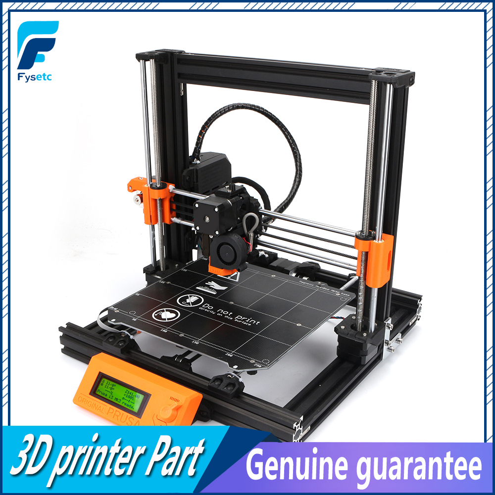 Clone Prusa i3 MK3S Printer Full Kit 3D Printer DIY Bear MK3S Including Einsy-Rambo Board Prusa i3 MK3 To MK3S Upgrade Kit