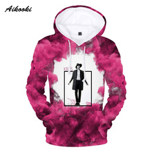 0ff37233c1c72 Aikooki Nouveau EXO 3D Sweats Hommes Femmes Hoodies 3D Imprimer Idol EXO  Automne Hiver Mince Coton 3d À Capuche Sweat À Capuche .