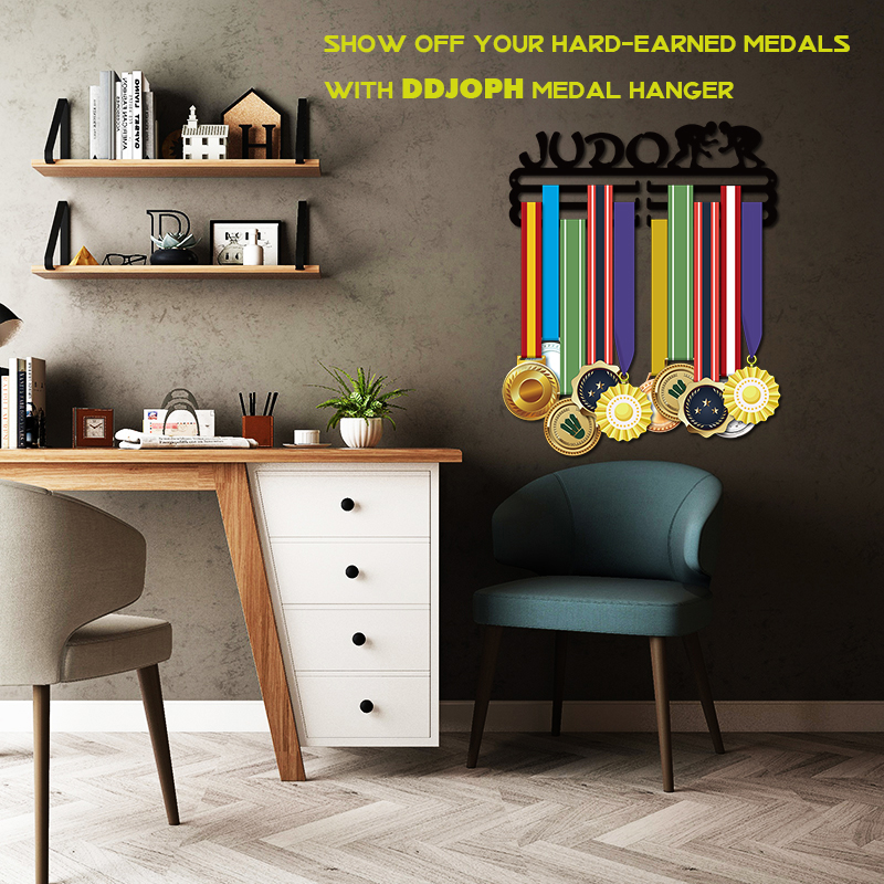 Image 3 - DDJOPH medal hanger for JUDO Sport medal hanger JUDO medal holder Medal display rack-in Storage Holders & Racks from Home & Garden
