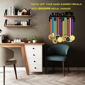 Image 3 - DDJOPH メダルハンガーため柔道スポーツメダルハンガー柔道メダルホルダーメダルディスプレイラック
