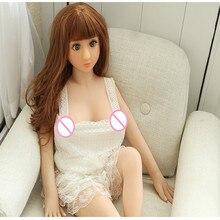 Yannova #8 מין בובת 100cm מלא TPE עם שלד למבוגרים מין צעצוע אהבת בובת נרתיק מציאותית מציאותי סקסי בובת עבור גברים
