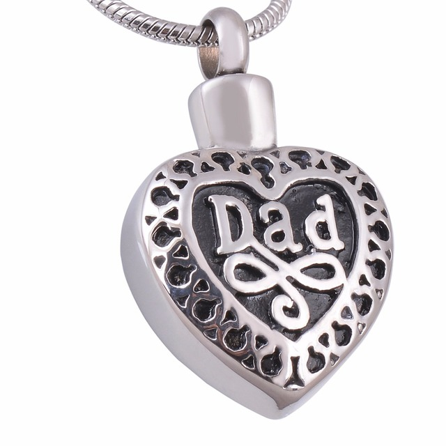 Personalized cremation jewelry dad in heart memorial pendant ashes personalized cremation jewelry dad in heart memorial pendant ashes urn locket necklace not turn off color aloadofball Gallery