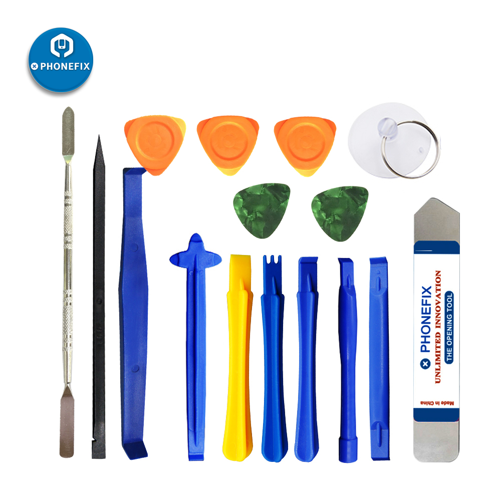Deluxe Cell Phone Repair Tool Kits for iPhone JF-611 8 in 1 Durable Repair Tool Set Repair Kits