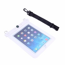 Waterproof Bag Case Holder Pouch PVC 10 Meters Underwater Diving Bag with Hook Neck Strap Compass For iPad 2 iPad 3 For Tablet