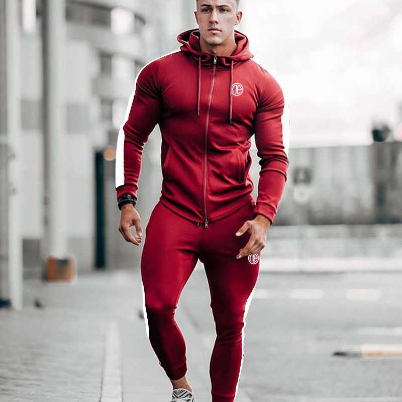 591dd704e91 Detail Feedback Questions about Men Gyms Sets 2018 Fashion ...