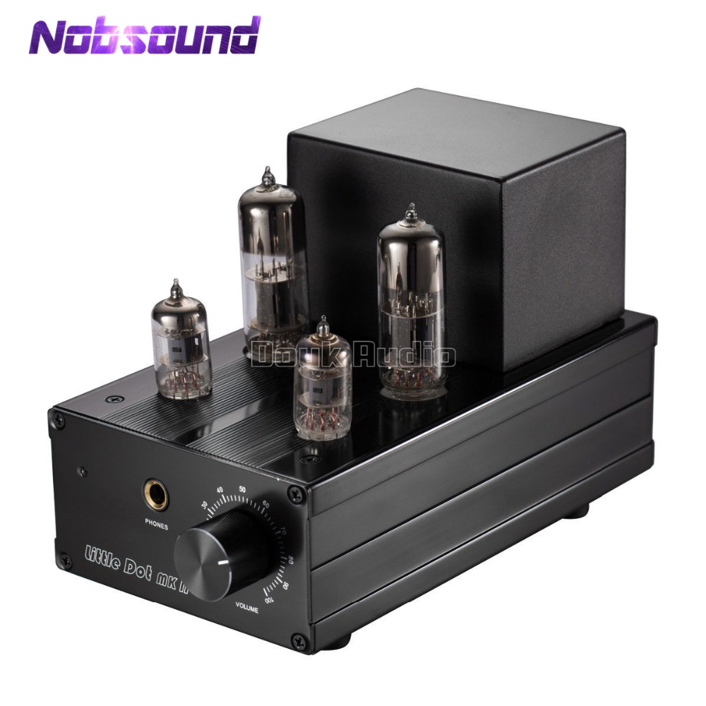 цена на Nobsound Little Dot MK II MK2 6J1+6N6 Assembled Tube Amplifier / Tube Pre-amplifier Upgrated Hybrid Headphone Amp