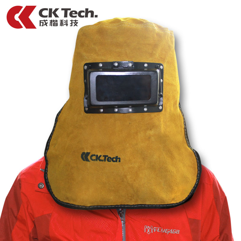 CK Tech Brand Pure Cowhide Head Wearing Type TIG MIG MMA  Welding Mask Eye Mask For Welding Machine OR LGK Plasma Cutter2012 mig wire feeder motor 76zy02a dc24v 18m min for mig welding machine
