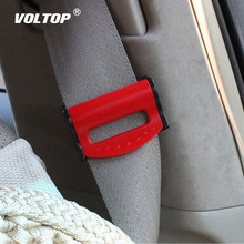2pcs Universal Car Seat Belts Clips Safety Adjustable Auto Stopper Buckle Plastic Clip 4 Colors Interior Accessories Car-styling